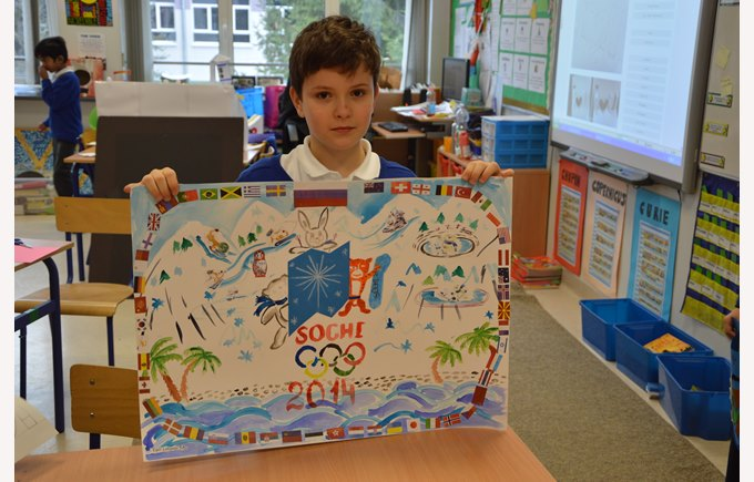 Year 5 student Olympics project
