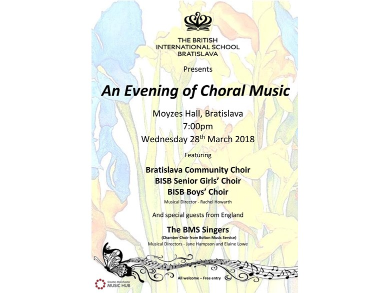 An Evening of Choral Music