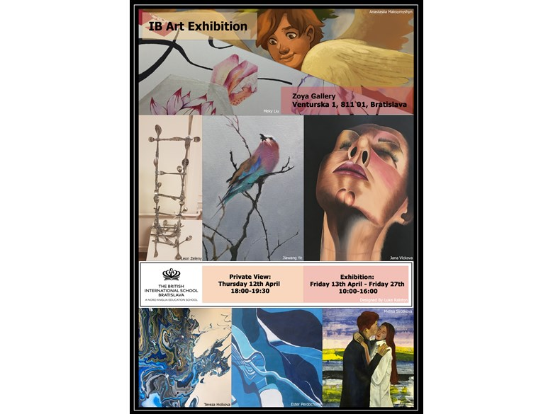 IB Art Exhibition Poster
