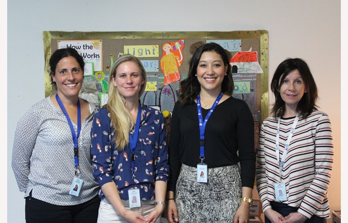 The ESL Team in the Primary School at ICS