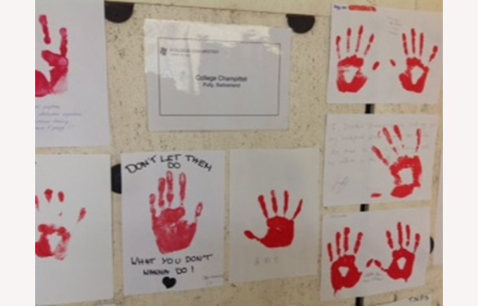 Campagne Red hand day