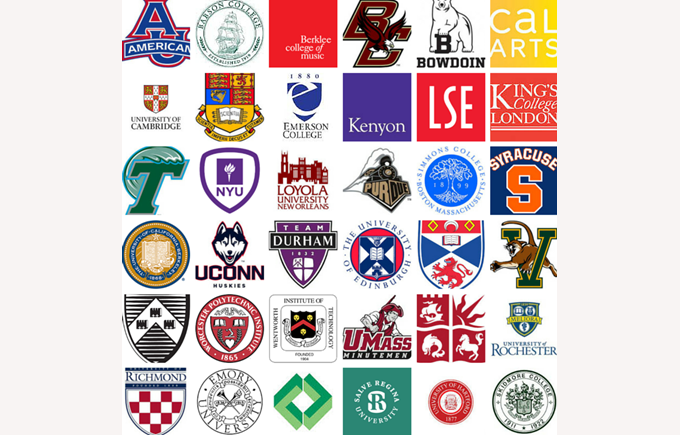 British International School of Boston students were accepted to dozens of colleges and universities in the US and globally