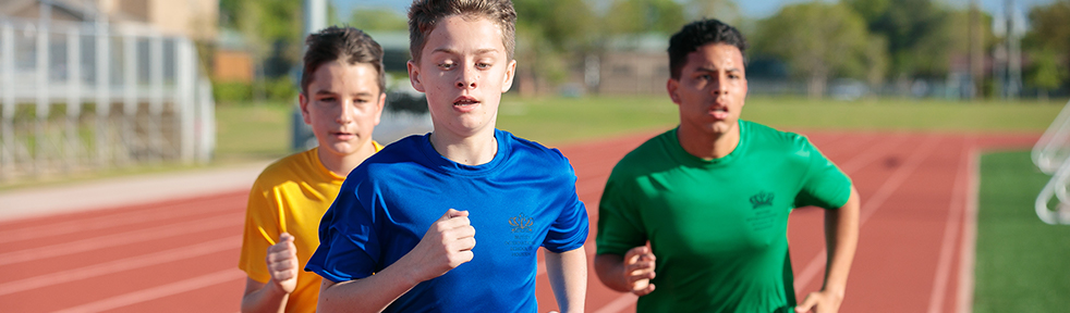 Student athletics at the British International School of Houston