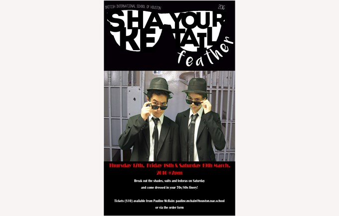 Student Production of Shake Your Tail Feather