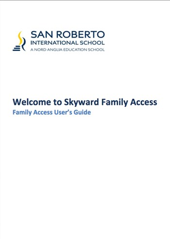 Handbooks - Skyward Family Access cover