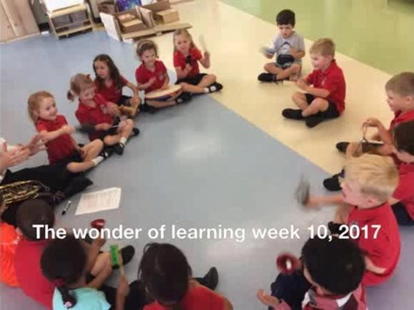 The Wonder of Learning, Week 10, 2017
