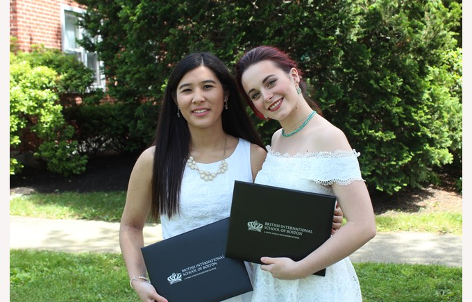 Graduates off to Ithaca and Northeastern