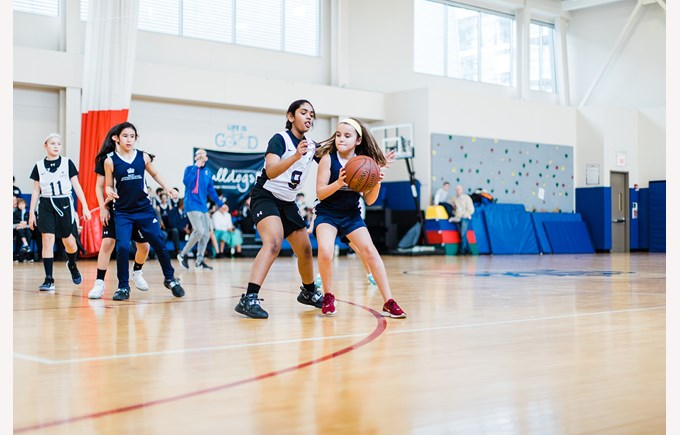 Girls Basketball Athletics