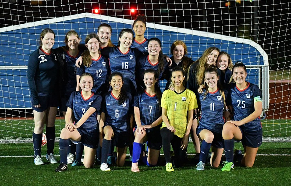 Girls Football at the British International School of Houston