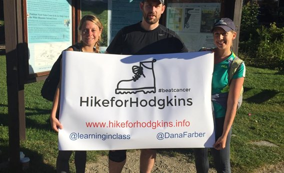 Boston teacher organizes Hike for Hodgkins fundraiser for Dana-Farber Cancer Institute