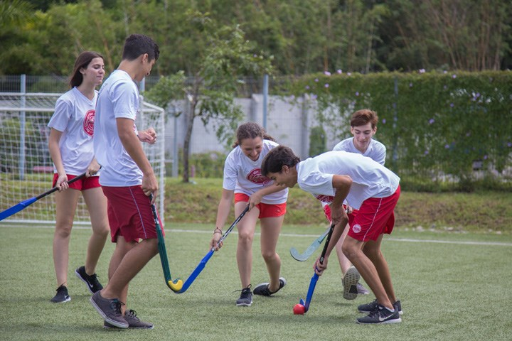 Hockey lesson