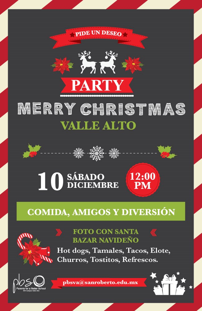 PBS VA Christmas Party Invitation ES