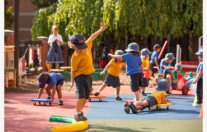 BISW Private British International School of Washington in DC nursery preschool pre-k outdoor physical education