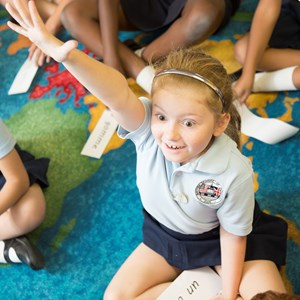 Confident Student at British International School Houston