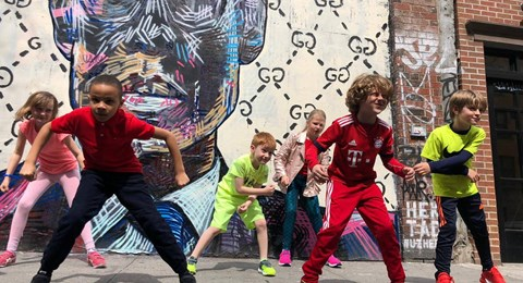 dance troupe New York street dance act band group kids