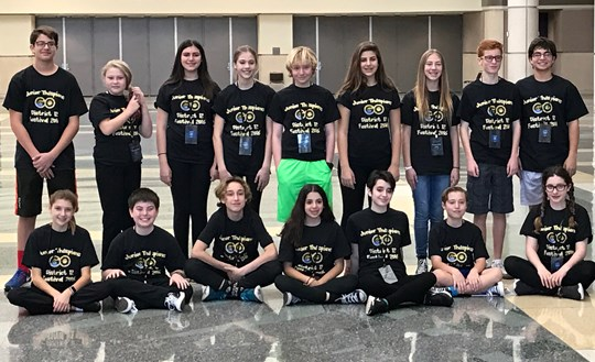 Jr. Thespians Compete at State Competition