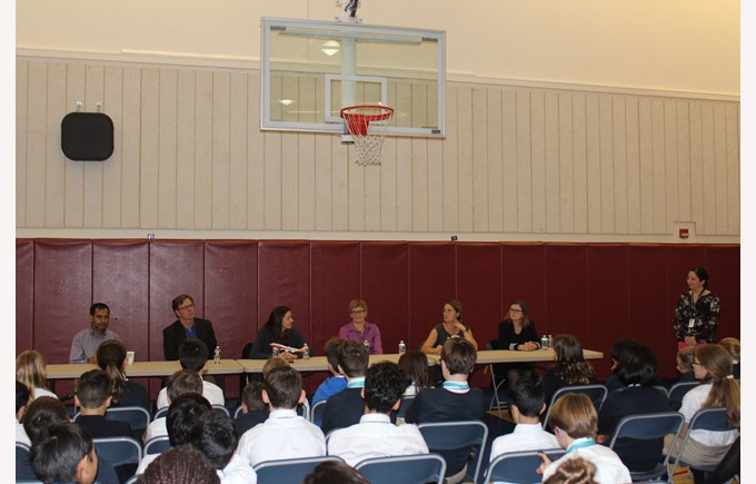 Parent Panel during Career Day