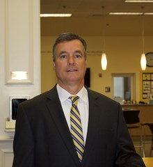 High School Principal Ron McCarthy