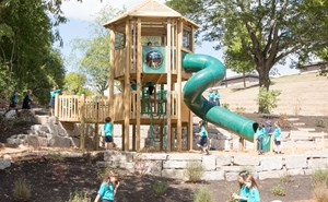 Upper Primary on Play Structure