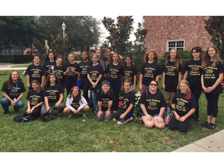 Jr. Thespians at District Competition