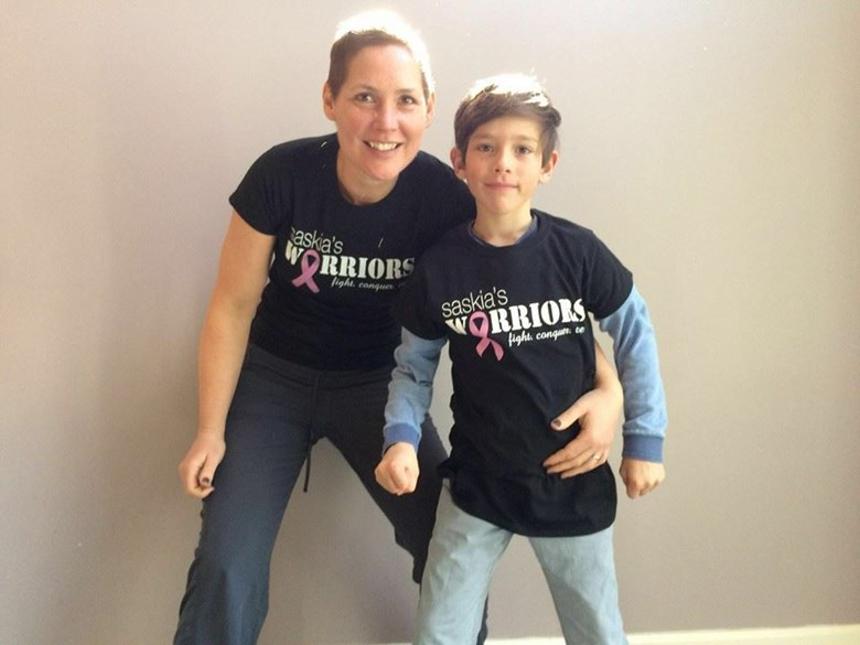 Saskia's Warriors will walk the Avon 39 Walk to End Breast Cancer this July in Boston.