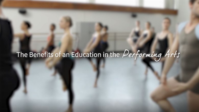 The Benefits of an Education in the Performing Arts