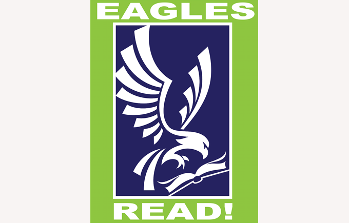 Eagles Read! Header