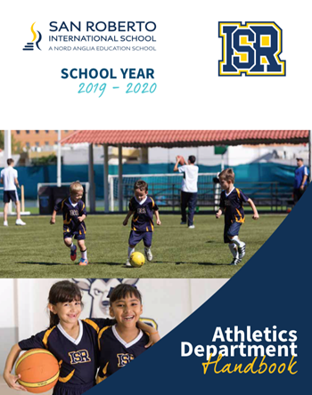 athletic department handbook cover