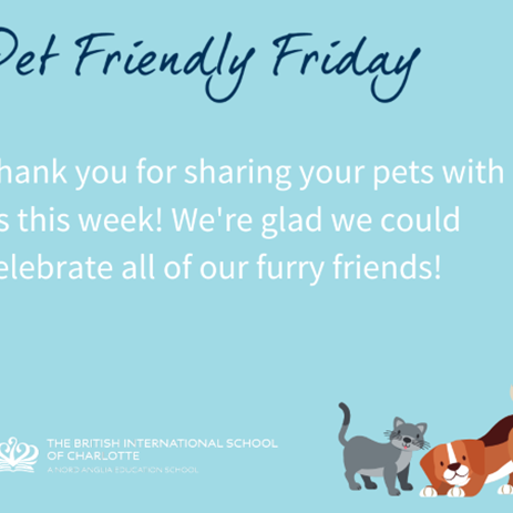 Thank you for sharing your pets with us this week!