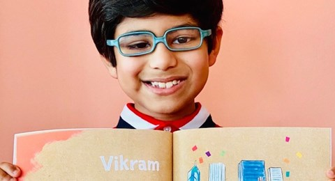 Vikram - Meet Chicago Real Kids