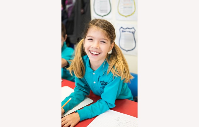 Year 4 Girl smiling