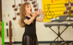 Singing & Dancing at the British International School of Charlotte