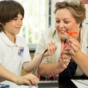Science teaching at the British International School of Charlotte