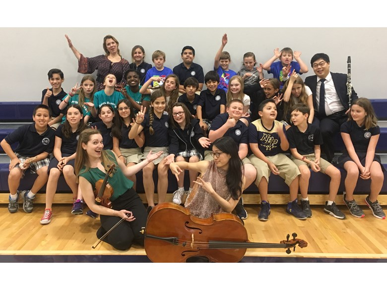 Juilliard Nord Anglia Composition Project 2018