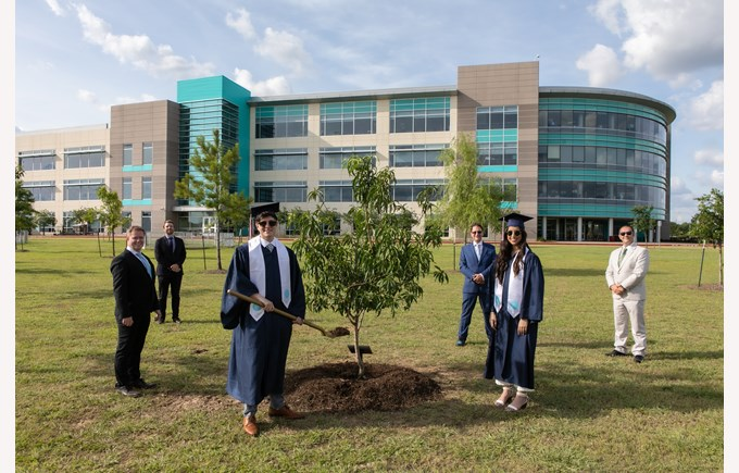 Class of 2020 Tree Planting Ceremony