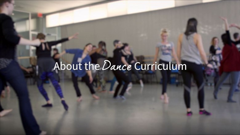 about the dance curriculum