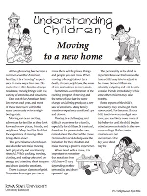 Information for new families - adaptation process cover