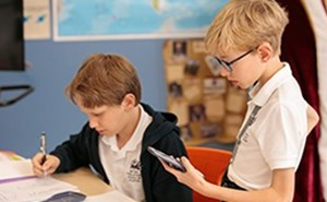 Middle school curriculum at the British International School of Houston