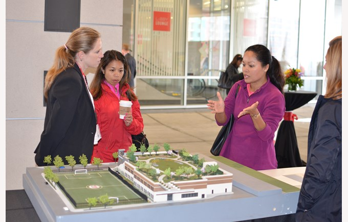 admissions julie groundbreaking