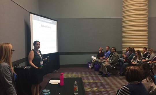 High School Teachers Present at Conference