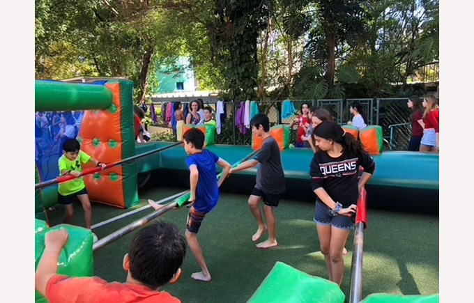 Children's Day for Secondary at Chacara Flora