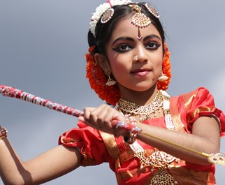 Girl From India Dancing