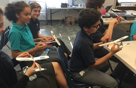 BISW Builds A Plane
