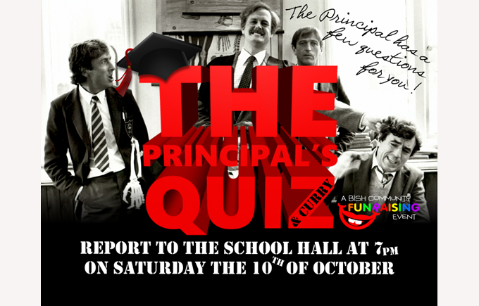 The Principal's Quiz and Curry Night