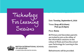 technology for learning poster
