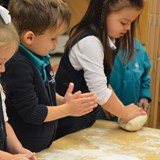 EYFS bread making