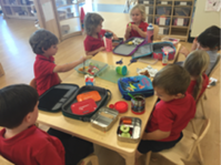 early years lunch